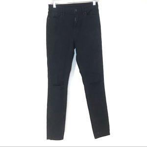 BDG Black Twig Grazer High Rise Skinny Jeans